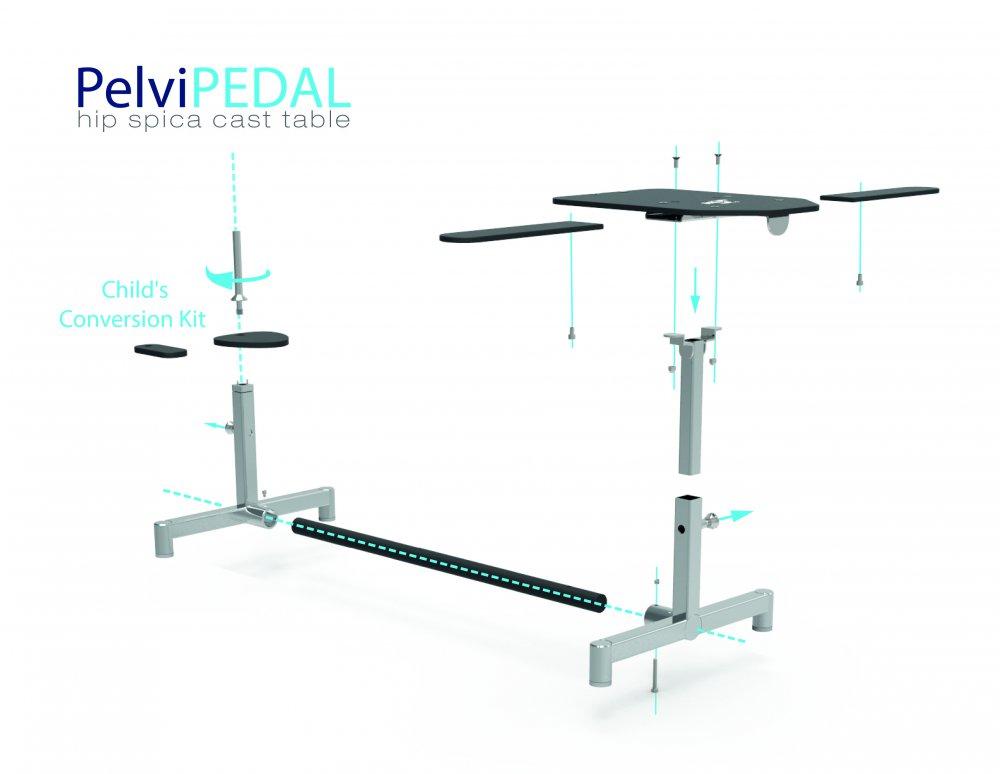 Pelvipedal Hip Spica Cast Table Pelvipedal Hip Spica Cast Table ...
